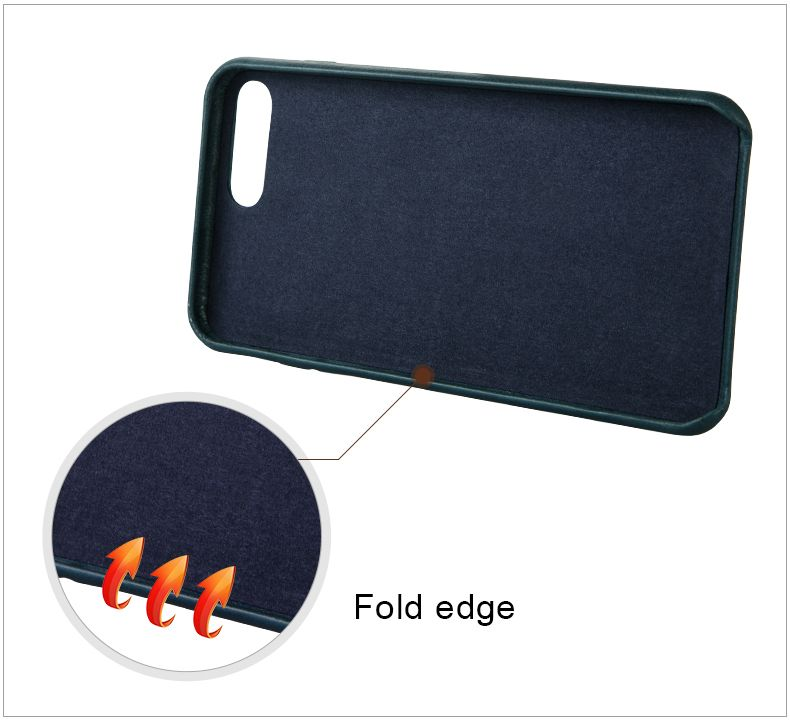 China Manufacturer Popular Real Leather Case for iPhone 8