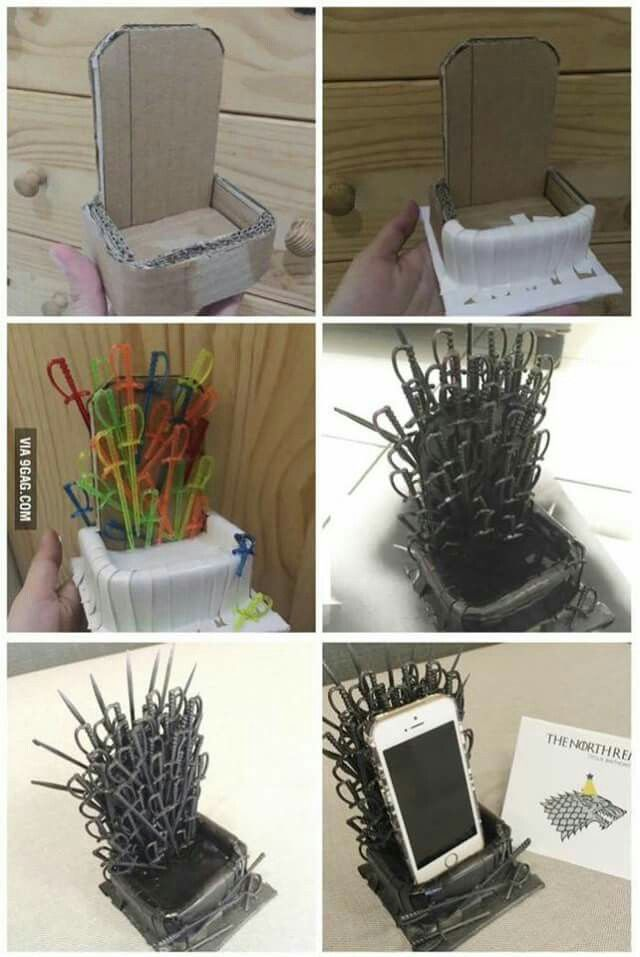 Diy: Suporte De Celular Para Fãs De Game Of Thrones | Phone Holder