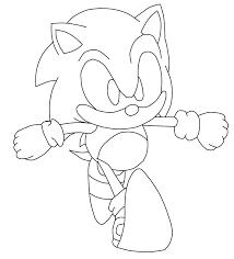 Dibujo Para Colorear Sonic Malo Buscar Con Google Con Imagenes