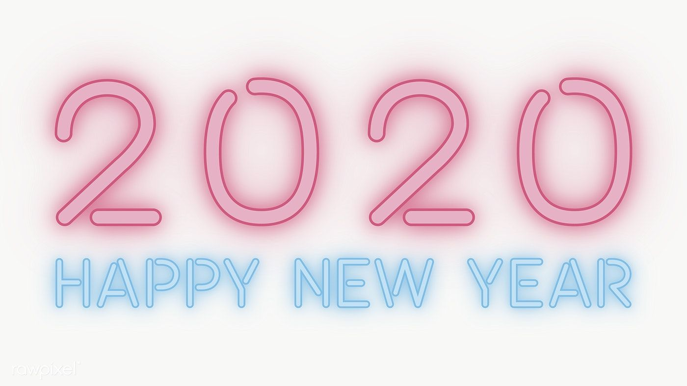 download premium png of neon happy new year 2020 wallpaper transparent png happy new year png happy new year text cool wallpapers for phones year 2020 wallpaper transparent png