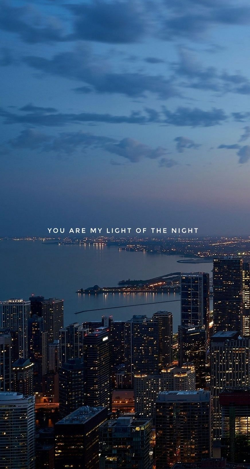 You Re My Light Of The Night City Wallpaper Iphone Backgrounds Tumblr Iphone Background