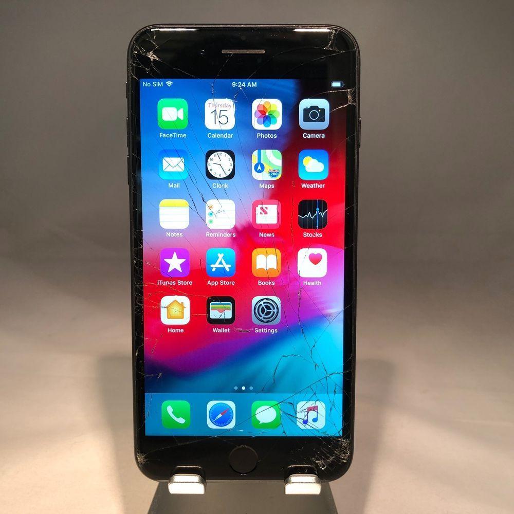 Apple iPhone 7 Plus 256GB Matte Black AT&T Unlocked ...