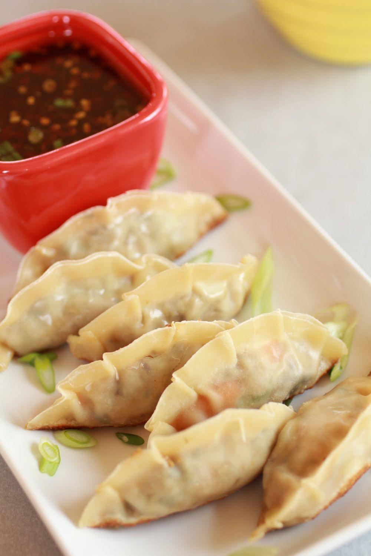 Vegetable potstickers rezept chinesisch kochen und for Chinesisch kochen