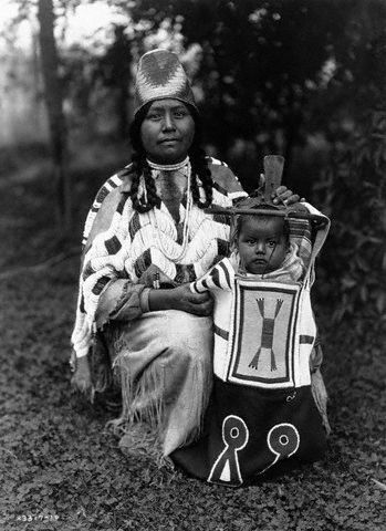 First Nations Mother and Child