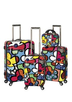 So cute...and would definitely stand out among the sea of black suitcases at baggage claim!