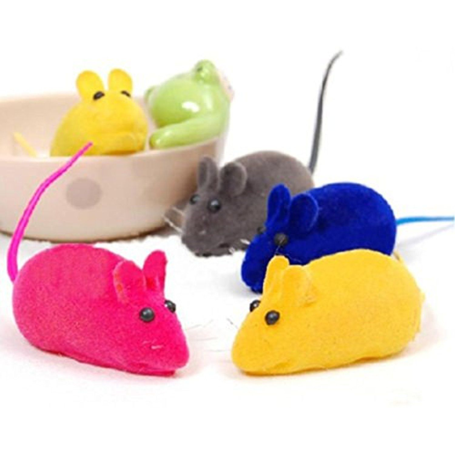 Alamana Pet Cats Dogs Cute Faux Little Mouse Rat Squeak Noise
