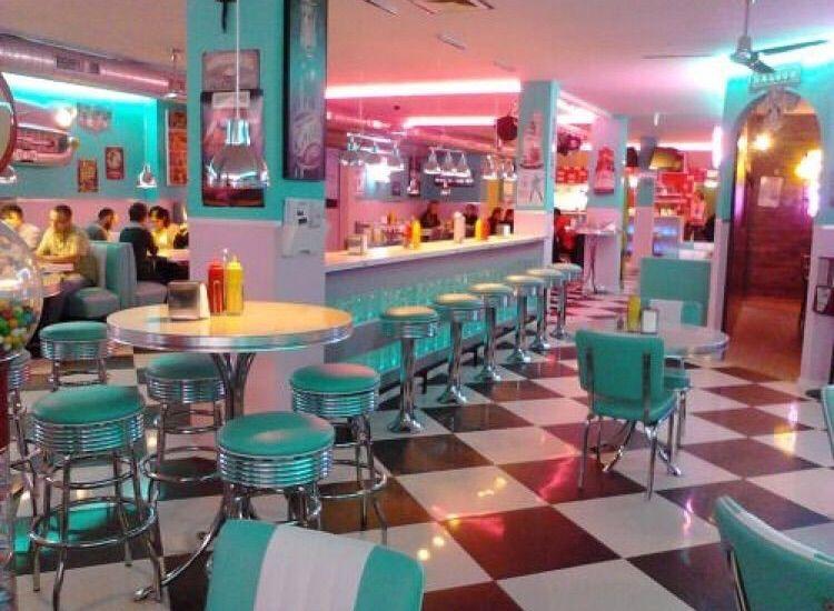 70 S Diner In 2020 Diner Aesthetic Retro Diner Vintage Diner