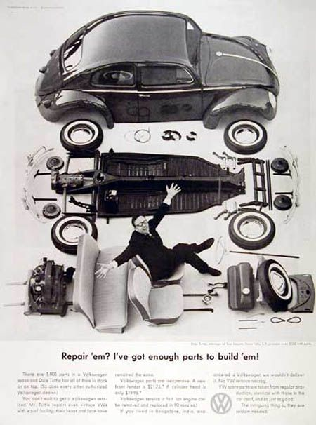 Remembering The Beetle 30 Volkswagen Ads From The 1960s Vintage Vw Volkswagen Beetle Volkswagen