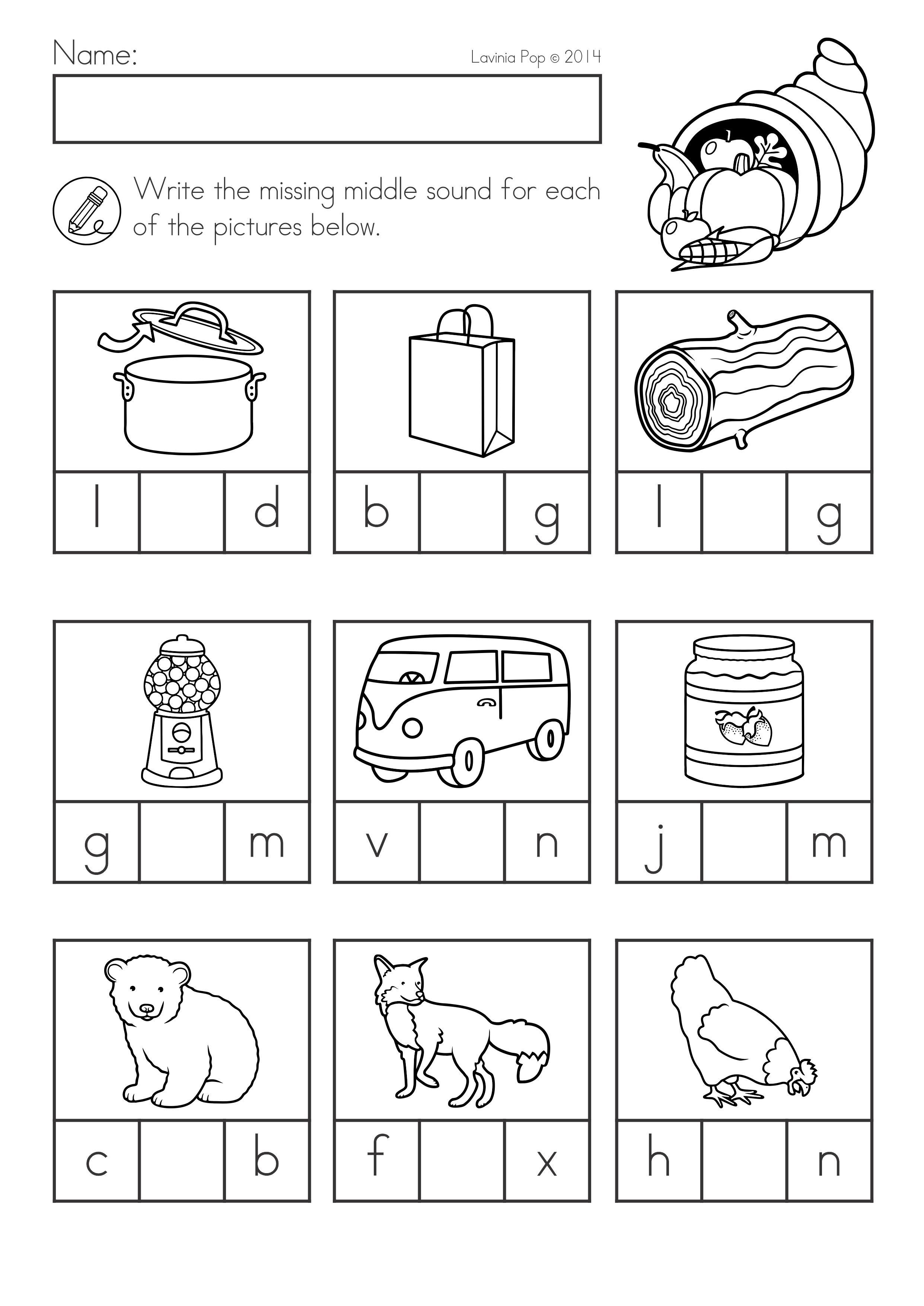 Kinder Garden: Thanksgiving Math & Literacy Worksheets And Activities