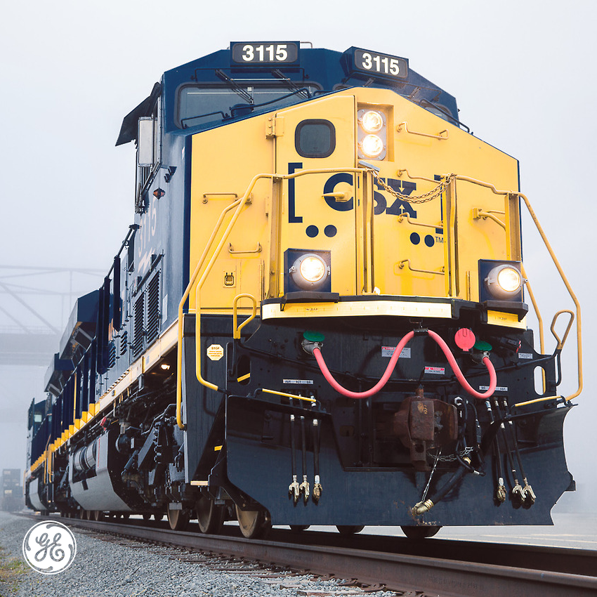 Up close with the GE Evolution Series locomotive  | Trains