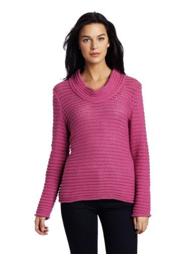 Amazon.com: Jones New York Women's Long Sleeve Cowl Neck Top: Clothing