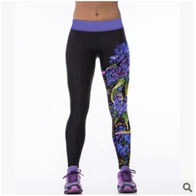 Corriendo Deportes New Design Leggings 3D Printed Leisure Legging Fashion ComfortableTrouser Rainbow Lion Leggin 19 Colours K079