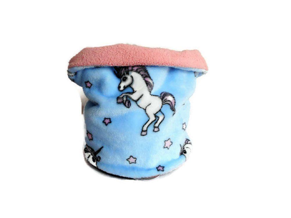 1c16f22eb98 Tour de Cou Fille Licornes et Etoiles Polaire Bleu Doublure Polaire de Coton  Rose Snood Fille