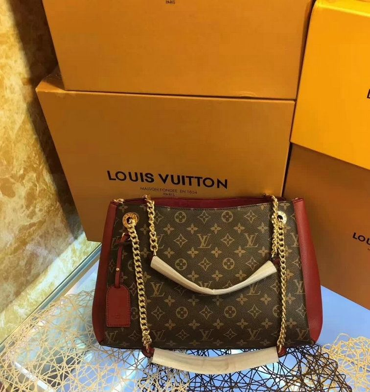6becc0b4c4 Louis Vuitton Surene MM Monogram Leather bags | Handbags, louis wuitton