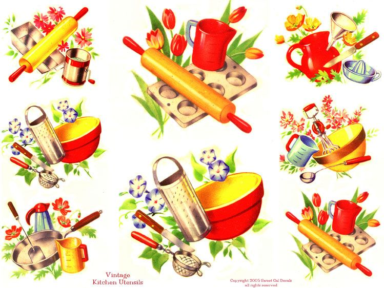 vintage kitchen cabinet decals dollhouse printies dise os de rh pinterest cl