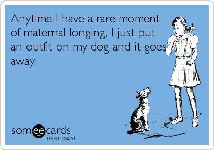 Funny Baby Ecard Anytime I Have A Rare Moment Of Maternal Longing