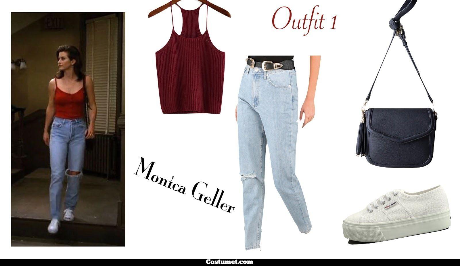 Monica Geller (Friends) Costume for Cosplay & Halloween 6