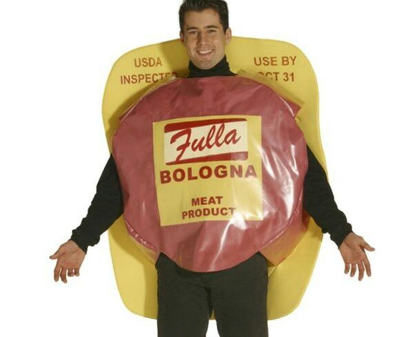 The Ten Dumbest Halloween Food Costumes Ever -Bologna Man  sc 1 st  Pinterest & Pin by Sammy Elly on Funny Food costumes | Pinterest | Food costumes
