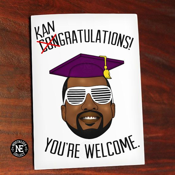 Hip Hop Graduation Card Graduation Cap Hat