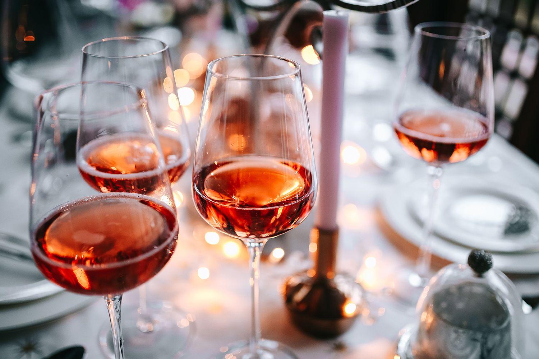 What Are The Health Benefits Of Rose Wine Rhubarb Wine Vegan Wine Wine Recipes