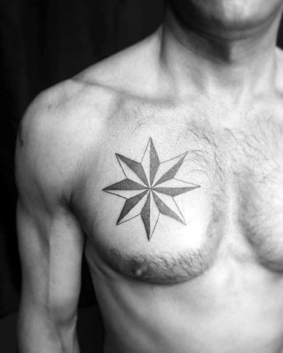 40 Simple Star Tattoos For Men