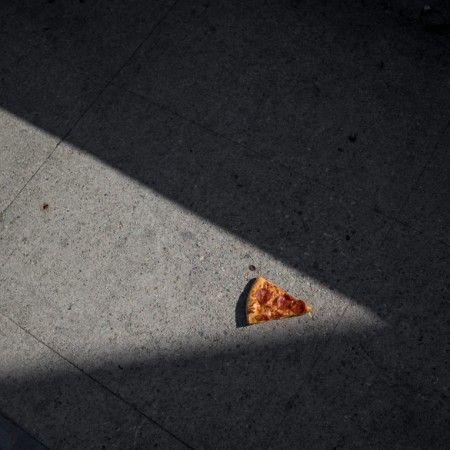 Pizz Art dans les rues de Los Angeles Photo