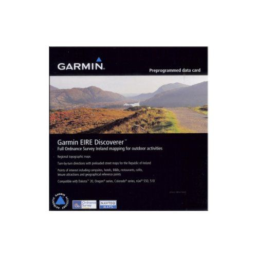Garmin EIRE Discoverer Ireland Map MicroSD Card