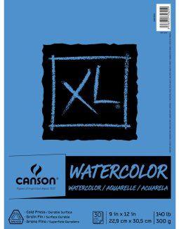 Canson L Aquarelle Heritage Watercolour Paper Pad Cold Press