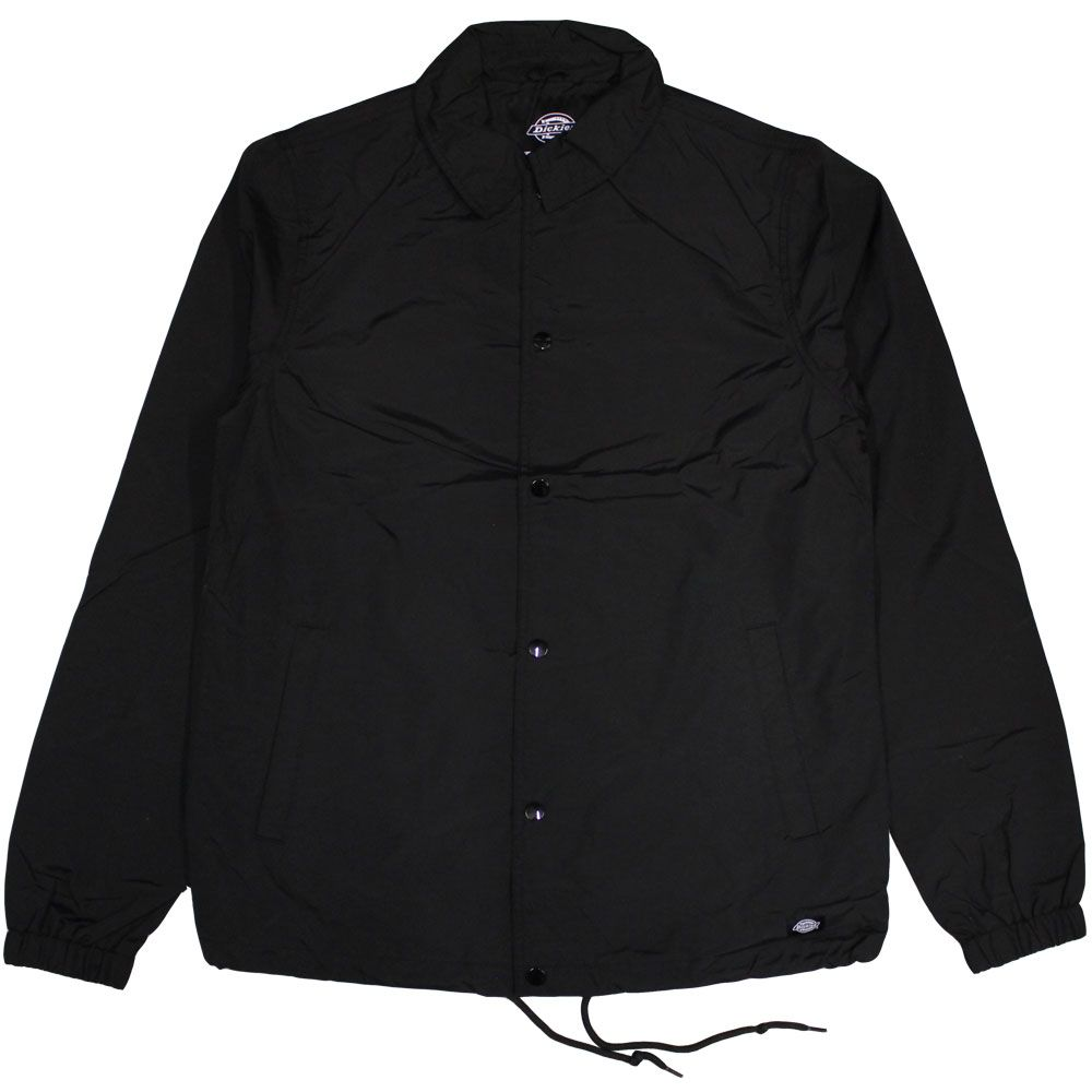 achat authentique chaussure prix imbattable DICKIES TORRANCE COACH JACKET BLACK | Dickies Work Wear ...