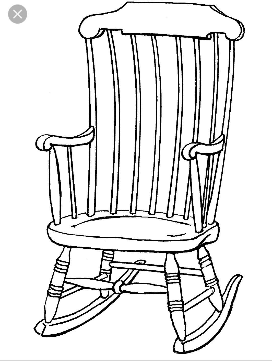 Chairdrawing Chair Drawing White Picture Black And White Pictures