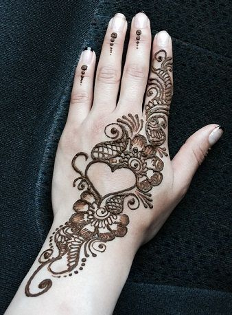Mehandi Designs Simple