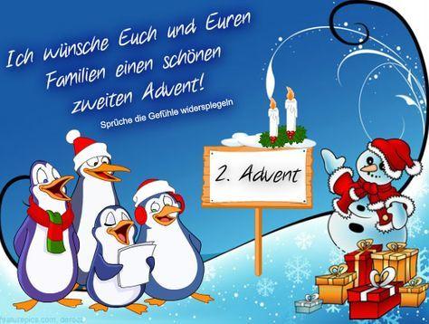 Euch Auch Einen Schonen 2 Advent Liebe Grusse Hanne Und Dieter 2 Advent Advent Lustig Weihnachtsgrusse
