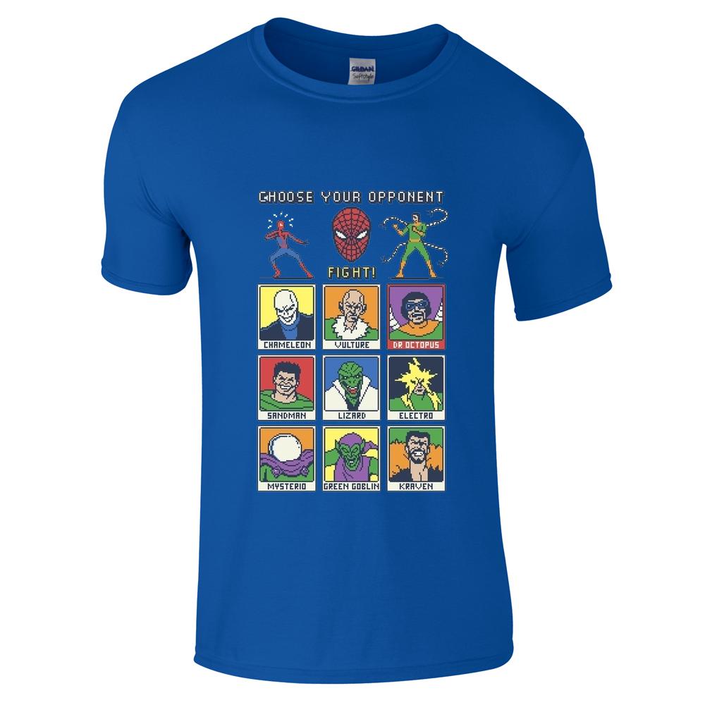 Spiderman Retro Game T-Shirt