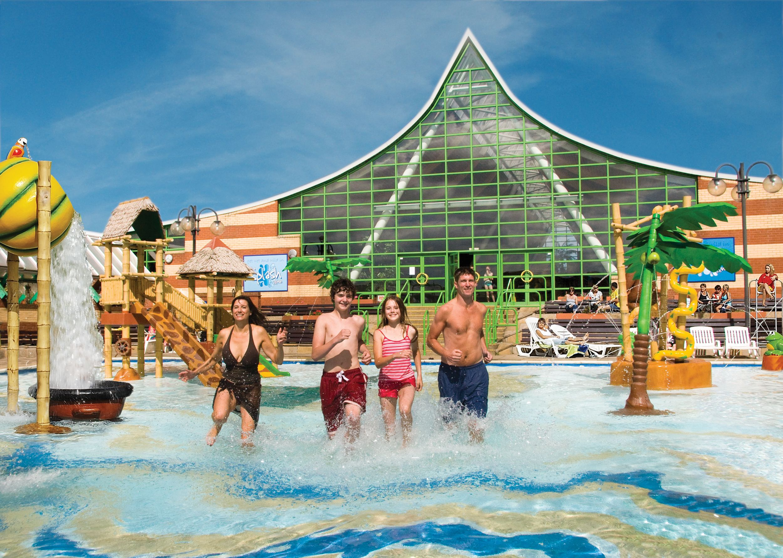 Vakantiepark Met Zwembad Schotland Splash Zone At Vauxhall Holiday Park Perfect Way To Spend A