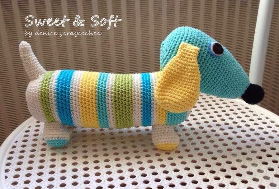 Sweet & Soft: AMIGURUMIS   cogines de perros salchichas   Pinterest ...