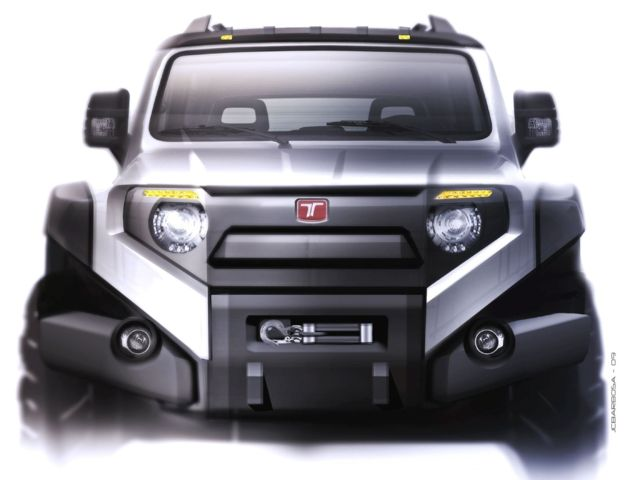 Troller t4 sketches pinterest sketches car sketch for Garden design troller