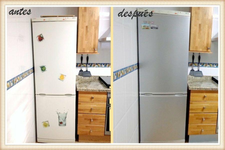 Cómo forrar los muebles de la cocina con vinilo | cocina ...