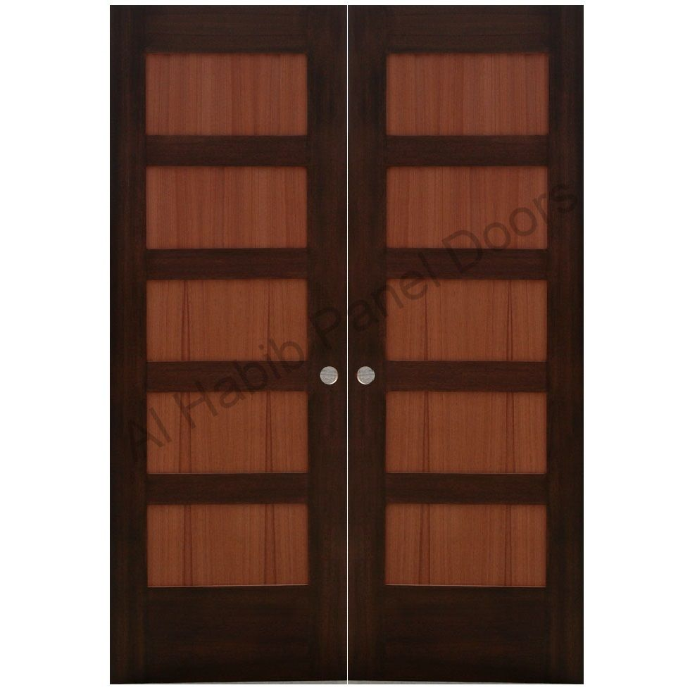 Double wood door 705b 30 quot x80 quot x2 right hand swing in front doors - Ash Wood Double Door Hpd415 Main Doors Al Habib Panel Doors
