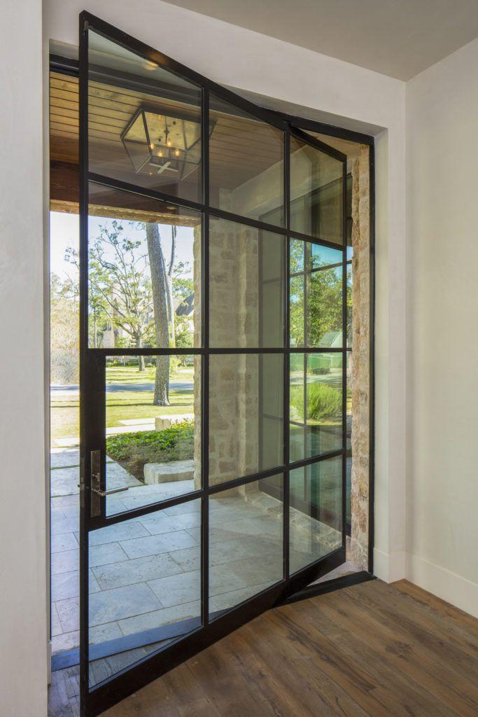 Thompson Custom Homes - Designs by Robert Dame - Houston TX - Portella · Pivot DoorsMetal ... & Thompson Custom Homes - Designs by Robert Dame - Houston TX ...