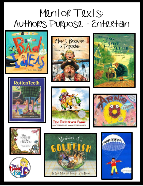 Authors purpose of writing a book