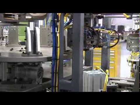 Automated Pad Printing/Vision Inspection System by Pro