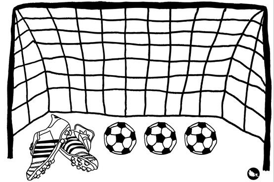 Arco De Futbol Arco De Futbol Dibujo De Arco Dibujos De Futbol