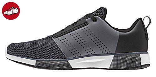 adidas Duramo 7 M, Chaussures de Running Homme, Noir/Rouge (Negbas/Negbas/Rojint), 41 1/3 EU