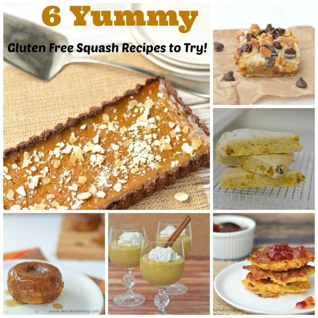 6 Amazing Gluten Free Squash Recipes   http://www.fearlessdining.com  #wintersquash #glutenfree