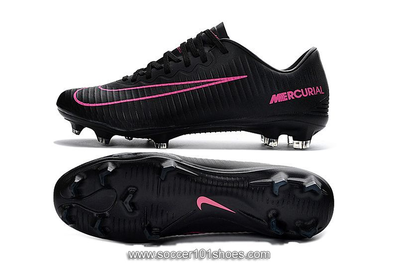 wholesale dealer 1f45d 5d802 Nike Mens Mercurial Vapor XI FG Football Shoe Soccer Cleats Pink Black  75.00