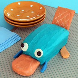 Perry the Platypus Cake via Disney Family