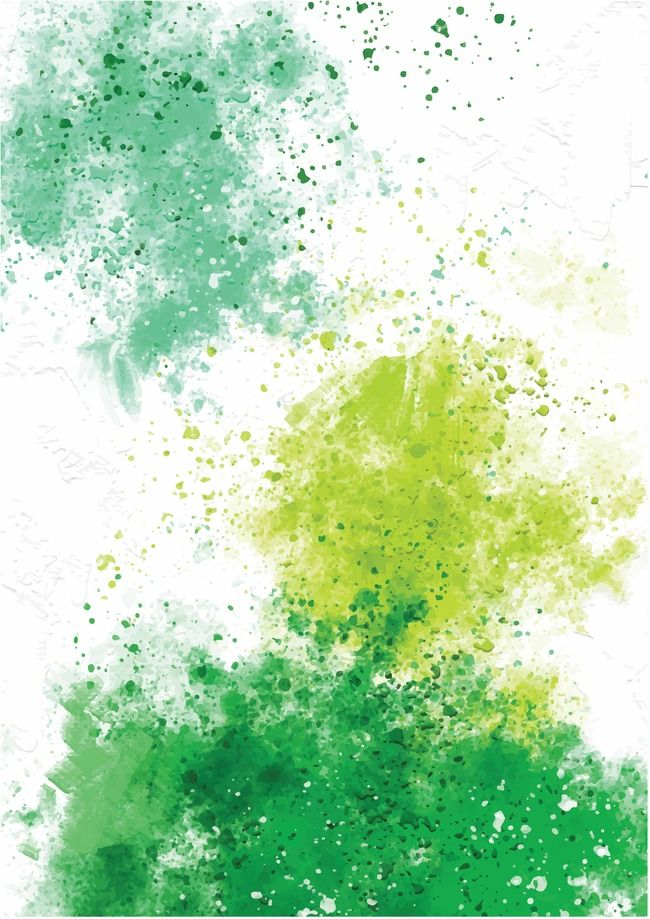 Watercolor Background Music Poster Watercolor Background Green
