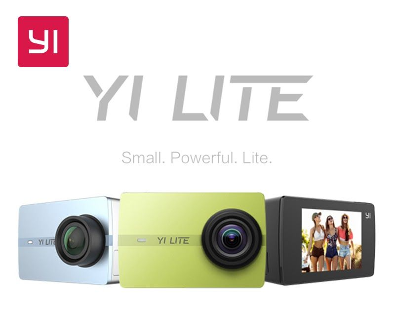 Best seller yi lite action camera 16mp real 4k sports