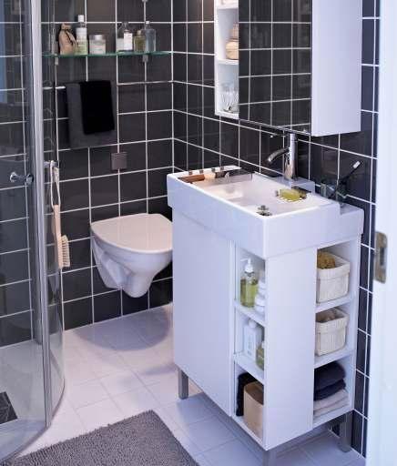 IKEA Lillangen Vanity & Sink.
