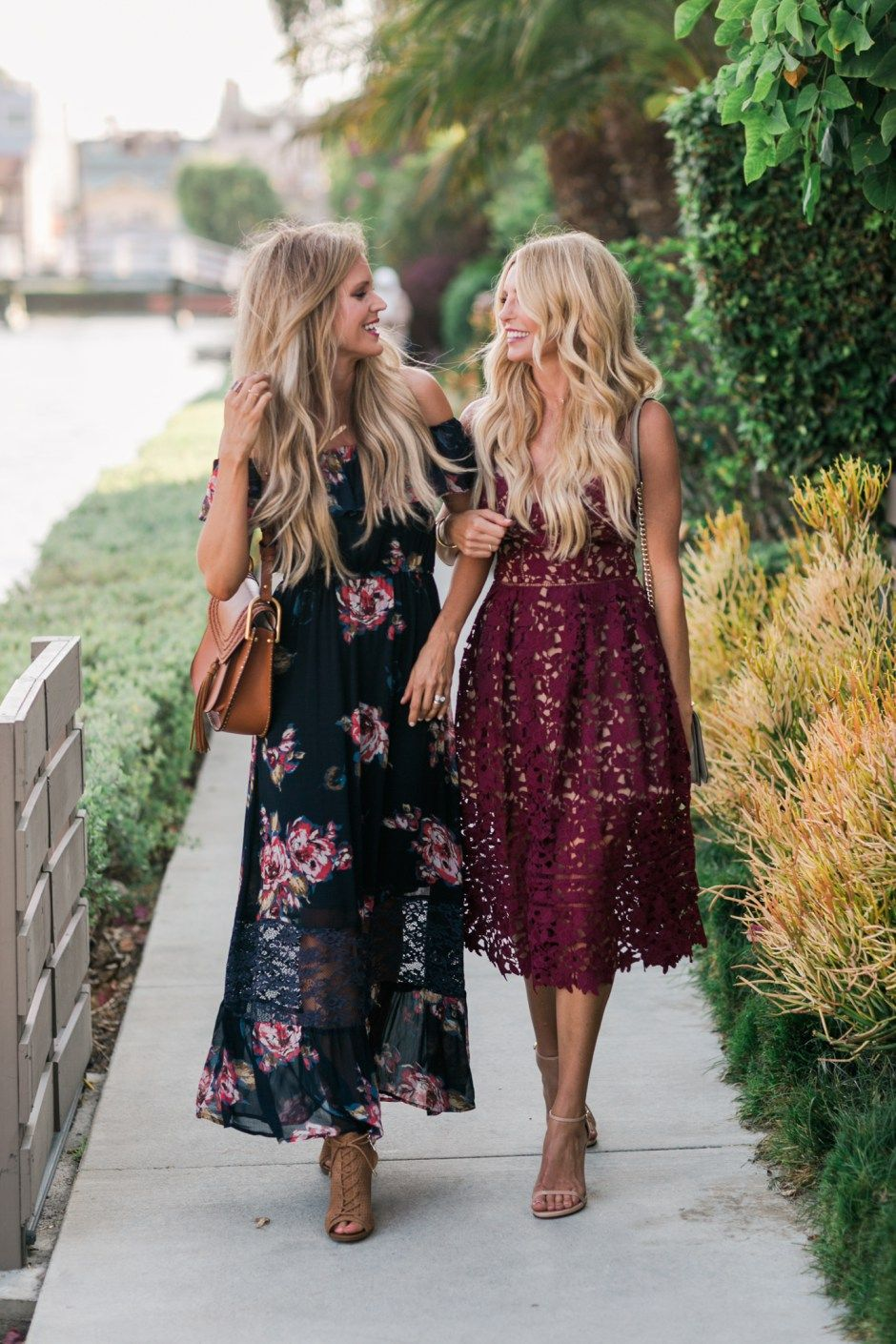 Dresses to wear to a fall wedding for a guest  early fall occasions call for light airy dresses in rich fall
